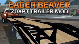 Farming Simulator 2015- Eager Beaver Over deck Trailer Mod!