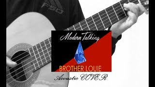 Modern Talking - Brother Louie (acoustic guitar cover by Puls Plus)