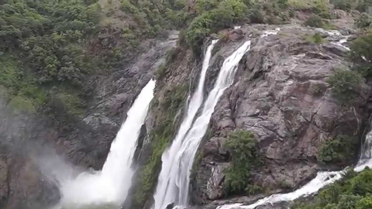 Image result for SHIVANASAMUDRA FALLS ( MANDYA DISTRICT, KARNATAKA):