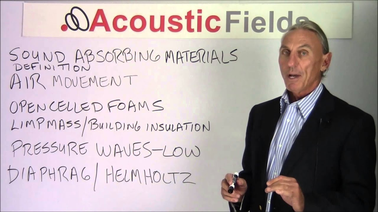 What Are The Best Sound Absorbing Materials - www AcousticFields com