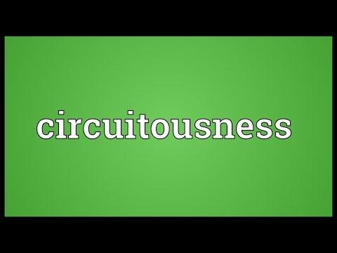 Header of circuitousness