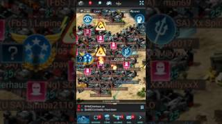 mobile strike 101 monster solo hits on a 6 trillion base