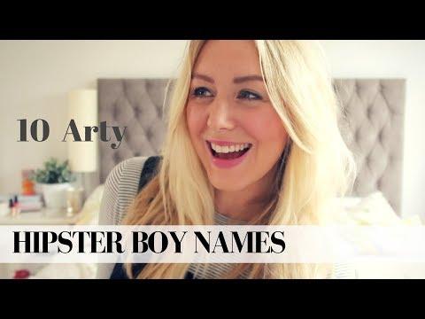 TOP 10 ARTY HIPSTER BOY NAMES | SJ STRUM BABY NAMES