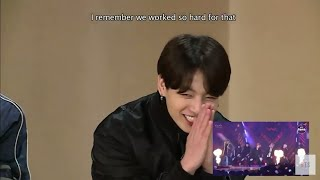 [Eng Sub] BTS react to 'History of BTS (Recap from 2013 to 2019)'