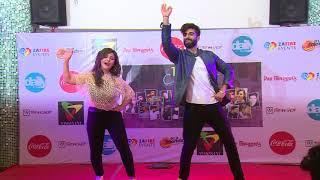 Aashika Bhatia And Mnv Dance AT 1ST MUSER CONCERT KOLKATA'17