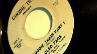 goodie train part I and II - cleo page - goodie train 1972