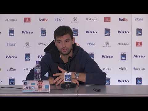 I'm not baby Fed anymore, says Grigor Dimitrov -  PRESS CONFERENCE (ENGLISH & BULGARIAN)