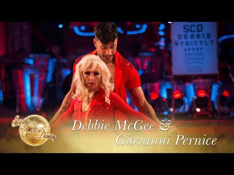 Debbie & Giovanni Salsa to 'I Can't Take My Eyes Off Of You' - Strictly Come Dancing 2017