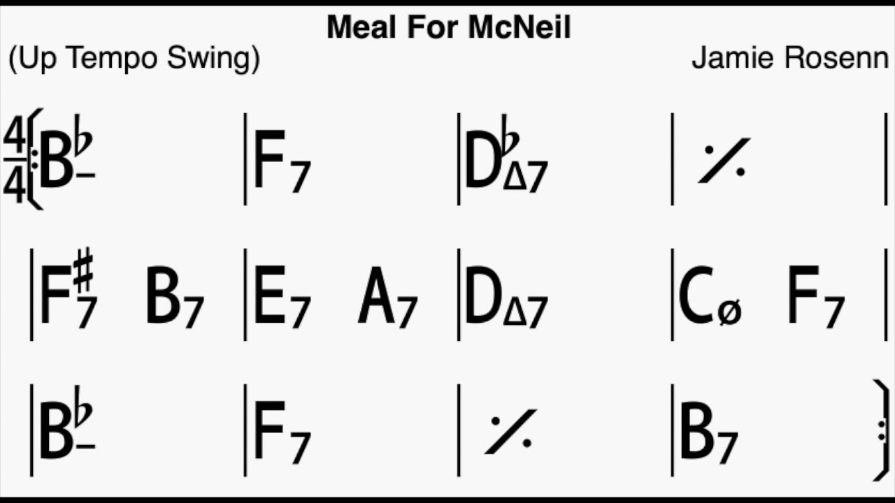 Meal for McNeil Playalong