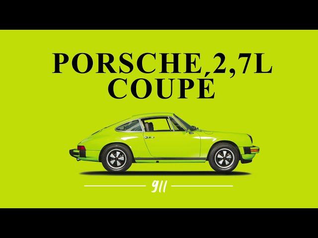 Porsche 911 2,7L coupé 1974