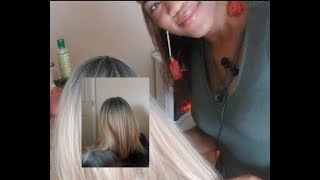 Doing Beyonce's hair (ASMR/ rude stylist roleplay)