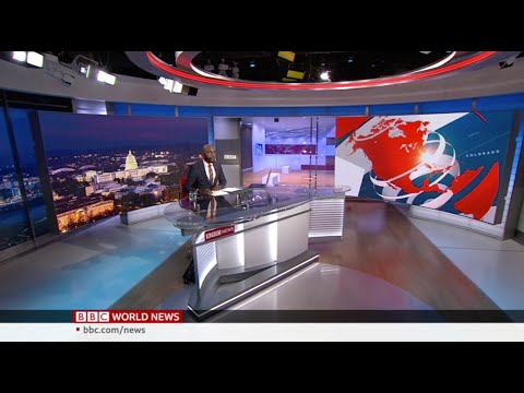 Larry Madowo anchors BBC World News America