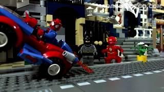 lego spider man car pursuit 10665