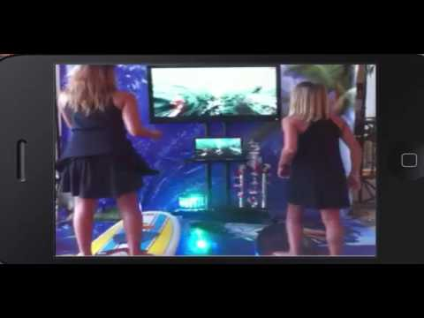 Virtual Surfing for Events, trade shows