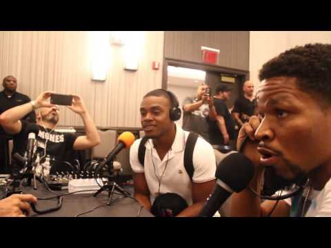 SHAWN PORTER CUTS INTO ERROL SPENCE INTERVIEW WITH PAULIE MALIGNAGGI