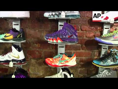A 16-year-old sneaker-loving teen opens a pawnshop in Harlem that uses high-end athletic shoes as co