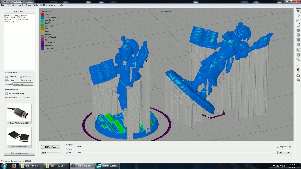 how to 3d print miniatures
