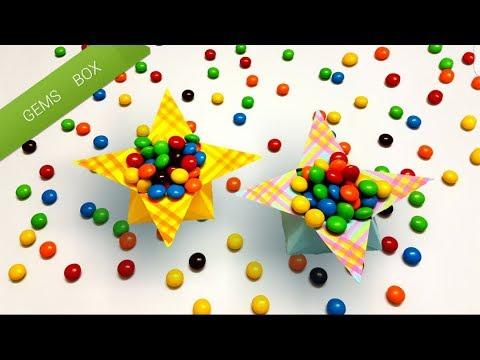 Origami Gems Box   Paper Gem Box [4K]   The Creator