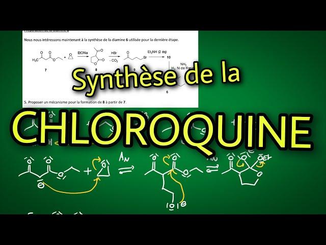Exercice : Synthèse de la CHLOROQUINE