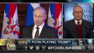 Is Putin playing Trump?