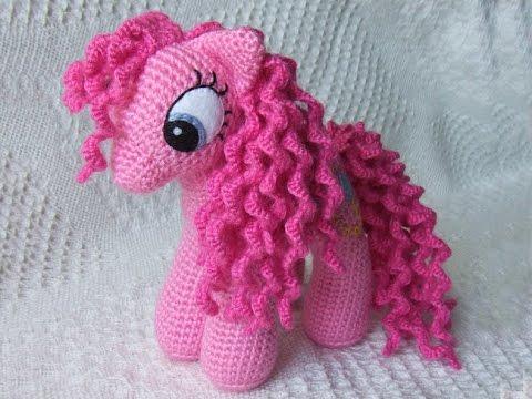 Амигуруми: схема Розовой пони.