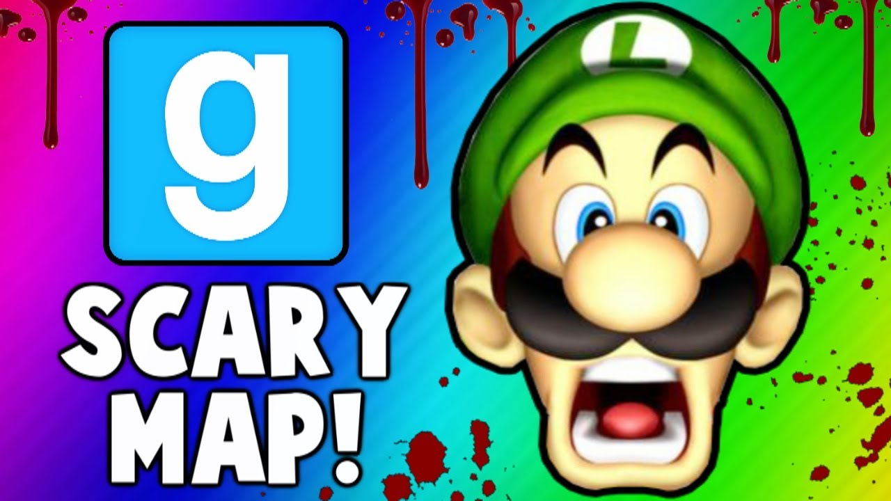 Gmod Scary Map! - Funny Moments, Jump Scares, Monsters, Adventure Mod (Garry's Mod)
