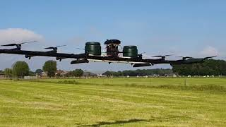 Powerful 50L spraying Drone with Fuel Injection | Loweheiser & Dron4Agro