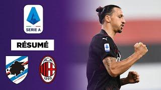 Serie A : Zlatan et Milan se font plaisir contre la Samp'
