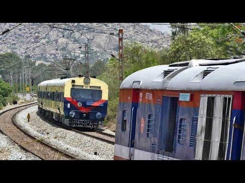When DEMU & MEMU CLASH !! Indian Railways