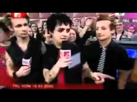 Green Day Funny Moments