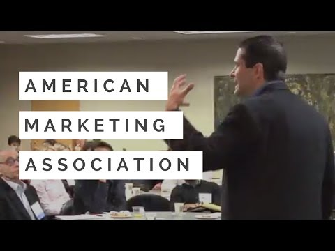 Marketing Speaker and Sales Speech | Sam Richter at American Marketing Association