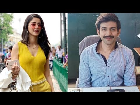 Kartik Aryaan And Ananya Pandey FIRST LOOK In Pati Patni Aur Woh OUT Mp3
