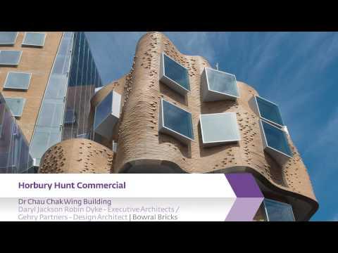 Think Brick Awards 2015 Horbury Hunt Commercial Winner - Dr Chau Chak Wing Building