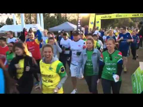 IMEXrun Frankfurt 2016 - the Start