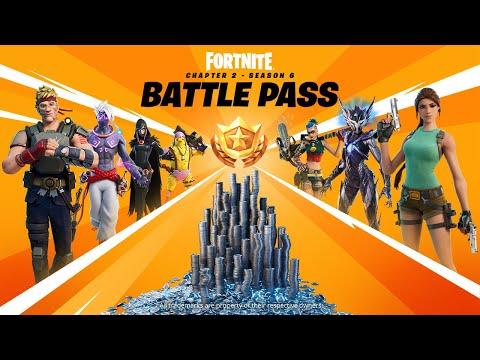 Fortnite Battle Pass Trailer for Chapter 2 Season 6