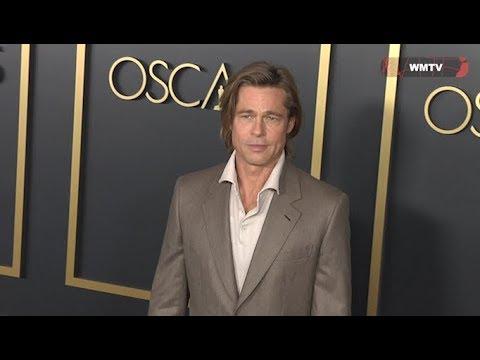 92nd Academy Awards Nominees Luncheon - Brad Pitt, Leonardo DiCaprio, Charlize Theron