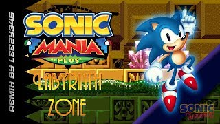 Sonic Mania PLUS Labyrinth Zone Mania And Encore Mode MOD Gameplay By CD2