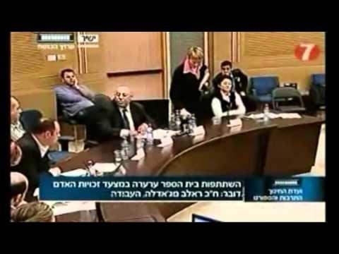 Anastassia Michaeli: A Naughty Knesset Member!