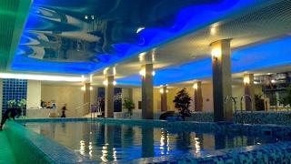 Натяжные потолки в бассейне, компания «Строй Сервис»