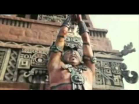 Mayan Religion  |Maya Sacrifice Stamp