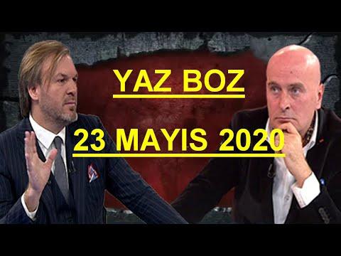 """Yaz Boz """"Ergün DİLER - Bekir HAZAR"""" 23 Mayıs Cumartesi 2020"""