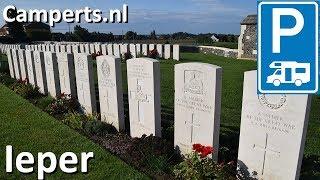 Camperplaats Zillebekevijver, Ieper, West-Vlaanderen, België (English subtitled)