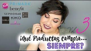 Productos que SIEMPRE COMPRO Vol.3 - IMPRESCINDIBLES  ⎥Monica Vizuete