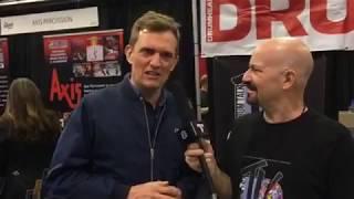 Jost Nickel Interview at NAMM 18 on Drum Talk TV