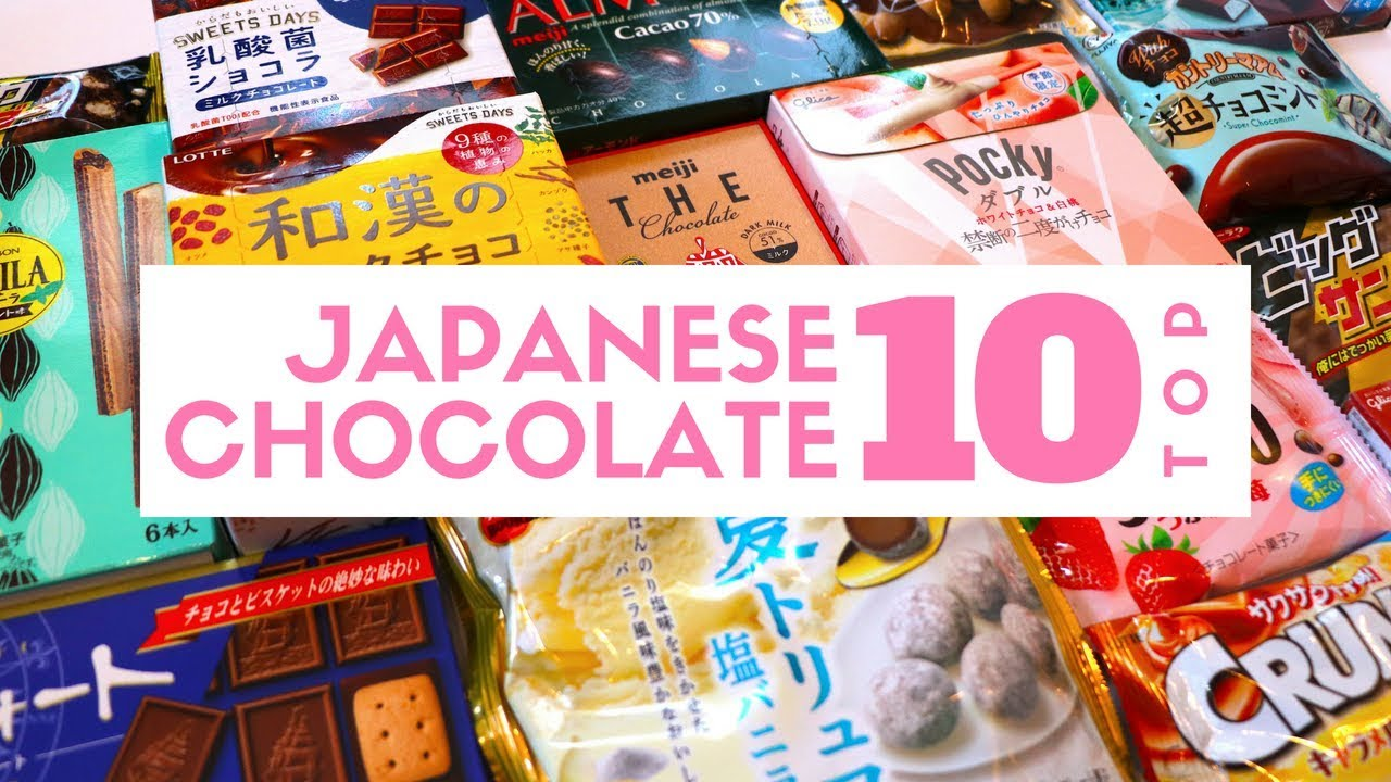 Japanese Chocolate Bars Top 10 Must-Try - Youtube-2624