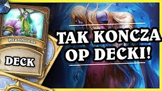 TAK KOŃCZĄ OP DECKI! - TOGGLE DRUID - Hearthstone Deck (Rastakhan's Rumble)