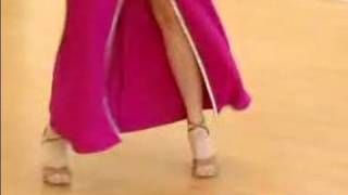 How To Dance The Salsa : Basic Women's Side Step For Salsa Dancing