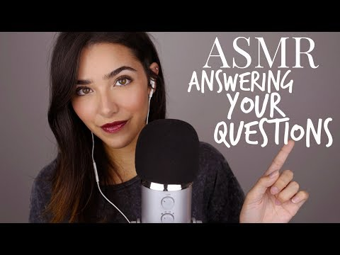 ASMR 1h Whispering: Answering your questions!