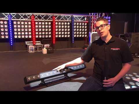 Lightmaxx Platinum Tour Pix Pro 16x8 Watt Quad Led Bar Rgbw