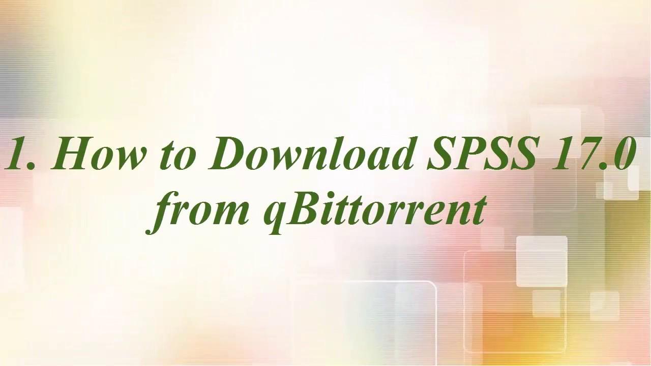 spss torrent download